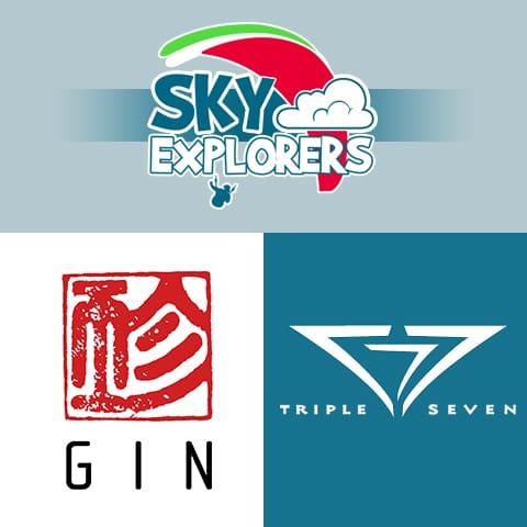 SKY EXPLORER GIN GLIDERS TRIPLE SEVEN
